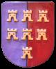 Keramik-Wappen Siebenbürger Sachsen