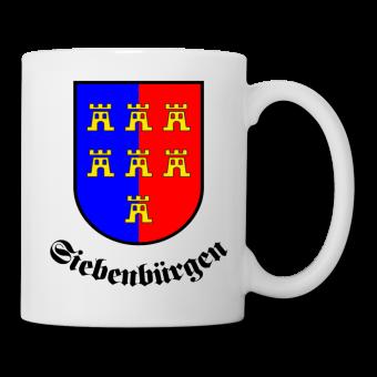"""Tasse Sachsenwappen """"Siebenbürgen"""" rund"""