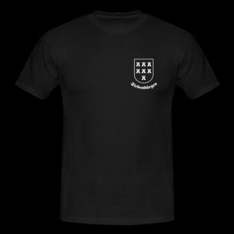 """T-Shirt Sachsenwappen """"Siebenbürgen"""" klein"""