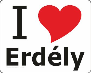 "Aufkleber ""I love Erdély"""