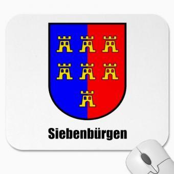 """Mauspad """"Siebenbürgen"""" Sachsenwappen"""