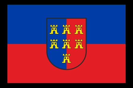 """Fahne """"Siebenbürger Sachsen"""""""