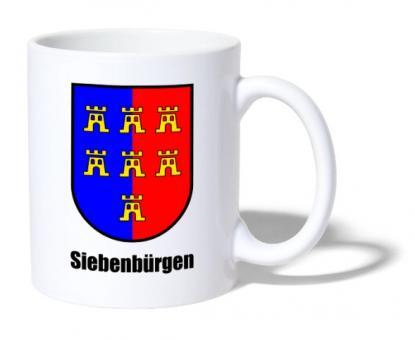 """Tasse Sachsenwappen """"Siebenbürgen"""""""