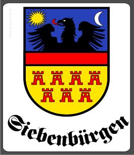 """Aufkleber Siebenbürgen """"Siebenbürgen"""""""
