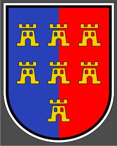 Aufkleber Siebenbürger Sachsen