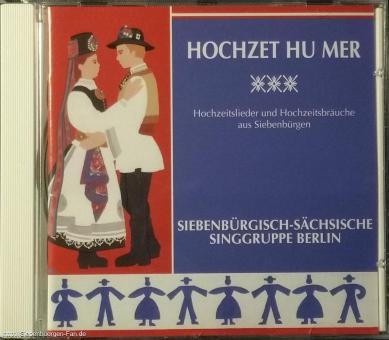 """Musik-CD """"Hochzet hu mer"""""""