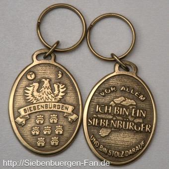 """Schlüsselanhänger """"Siebenbürgen"""" oval"""