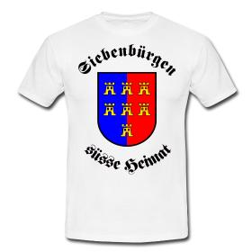 """T-Shirt """"Siebenbürgen süße Heimat"""" Subli"""