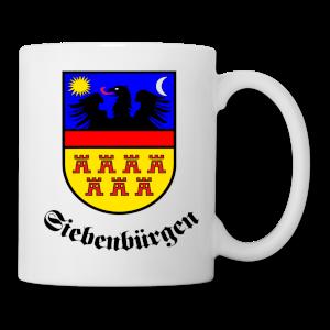 """Tasse Siebenbürgen-Wappen """"Siebenbürgen"""" rund"""