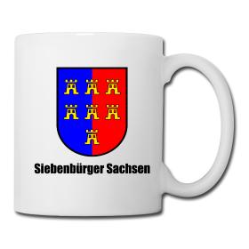 """Tasse Sachsenwappen """"Siebenbürger Sachsen"""""""