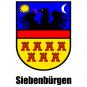 """T-Shirt Siebenbürgen-Wappen """"Siebenbürgen"""" Subli"""