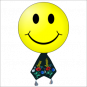 "T-Shirt ""Smiley mit Krawatte"""